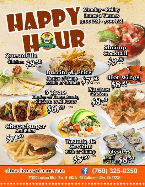 Cinco De Mayo Mexican Food